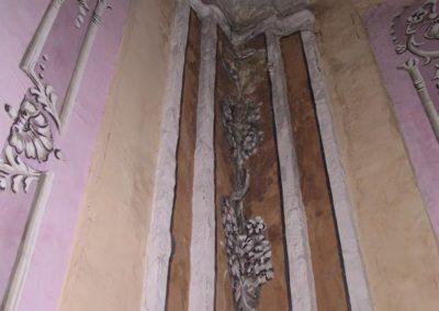 infiltrazione-colonna-soffitto