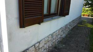 Eliminazione umidità di risalita in una casa a Garlasco (Pv)