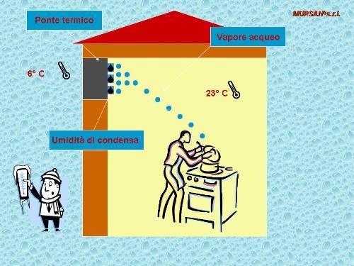 Muffa sui muri come eliminarla - Umidita in casa soluzioni ...
