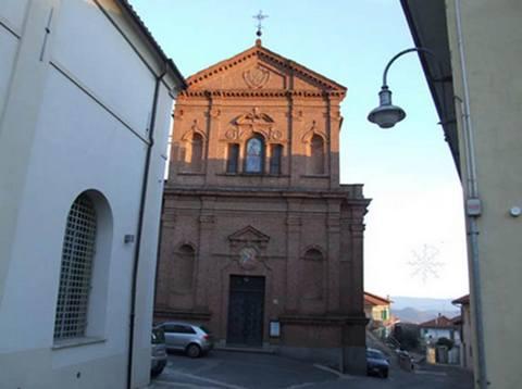 Umidità di risalita in una chiesa di Baldissero D'alba