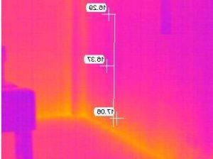 Stessa muratura verificata al terzo monitoraggio