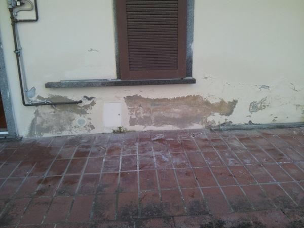 Umidità di risalita in una casa privata in Piossasco
