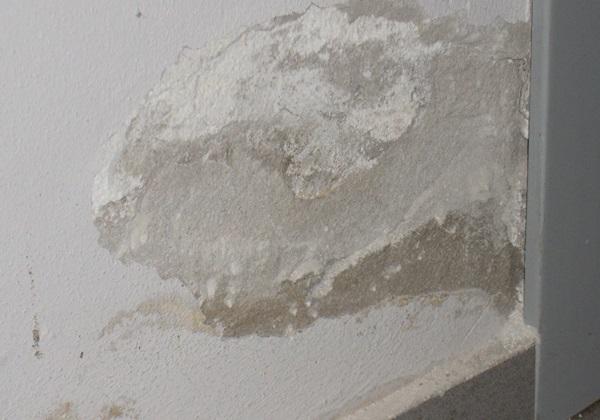Umidità di risalita capillare in una villetta a Cisterna D'Asti